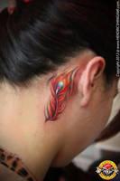 phoenix feather by bengkel168