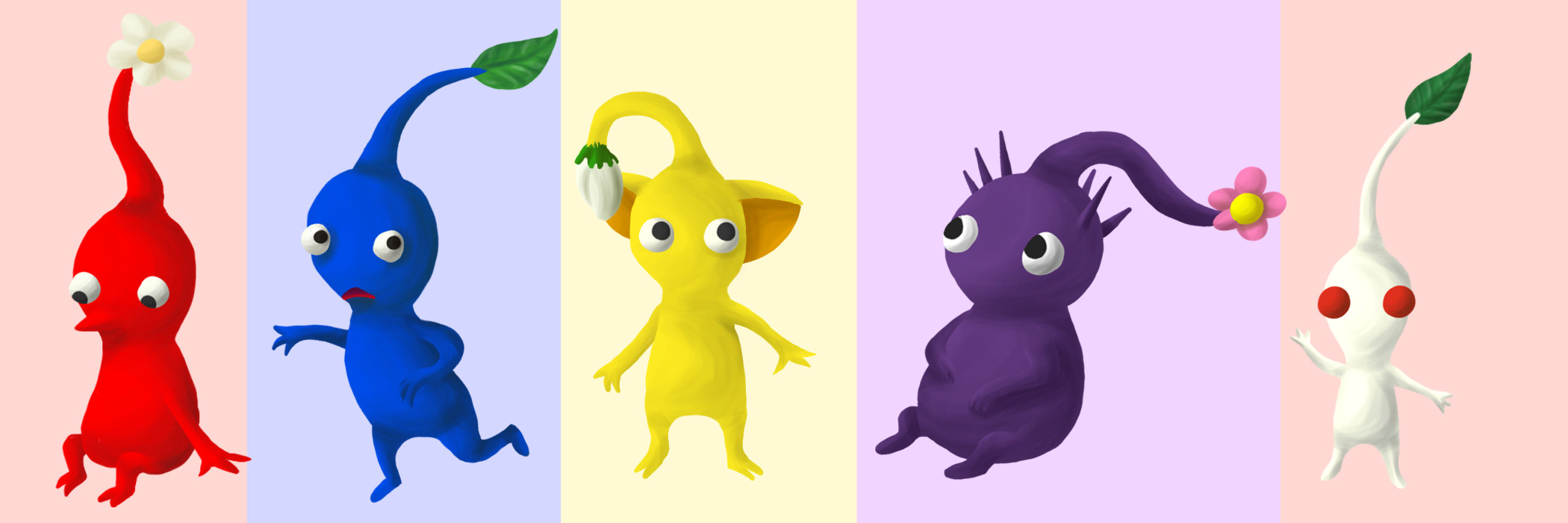 PIKMIN by Wuhzzles