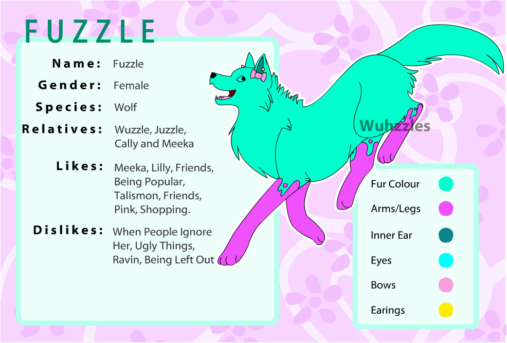 Fuzzle Reference - 2010 by Wuhzzles