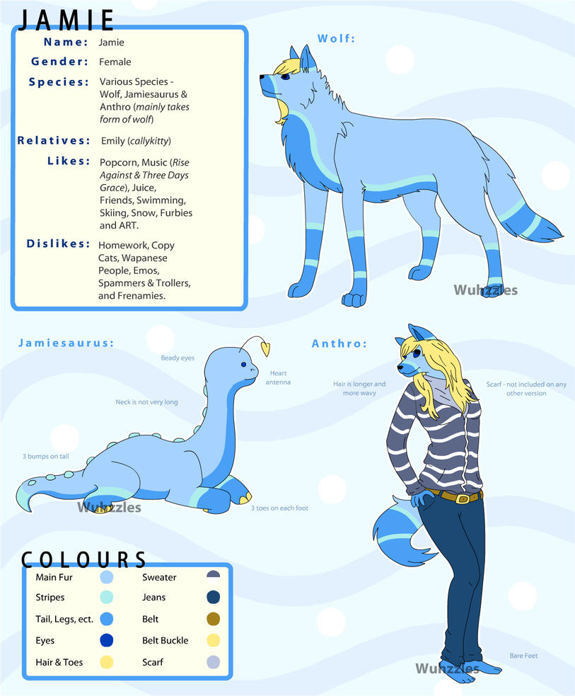 Jamie Reference - 2010 by Wuhzzles