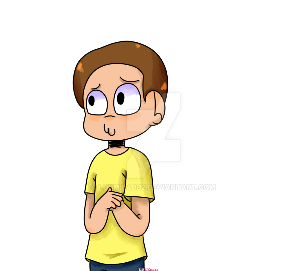 Morty -Redraw- by ludmilabb2