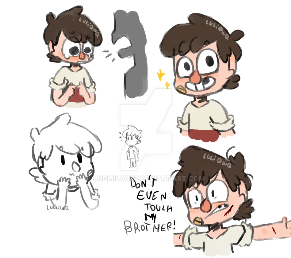 Kid Stanley Sketches by ludmilabb2