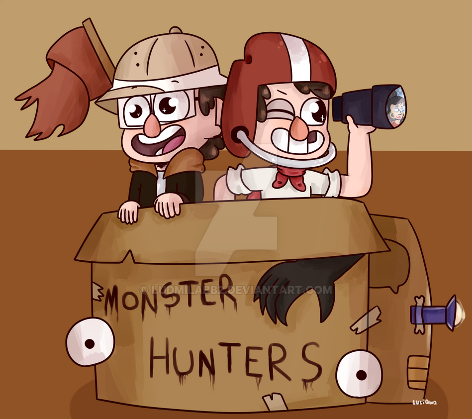 Monster Hunters by ludmilabb2