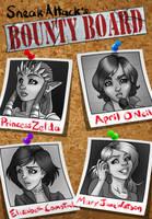 Bounty Board: Damsels seeking Distress by SneakAttack1221