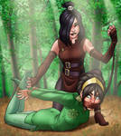 Toph and June: Earth-Bounding