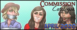 Commission Catalogue: April 2020