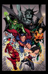 Justice League   Ivan Reis By Frogeybeag
