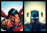 Superman/Batman - Day vs Night