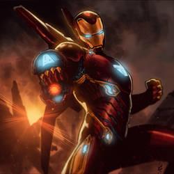 Iron Man Infinity War by GustavoSantos01