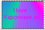 Vaporwave Stamp by Krazy8Horse