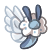 Fluffian Smol -  Angel by BankOfGriffia