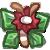 Fluffian Smol -  Poinsettia by BankOfGriffia