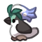 Pet - Budbird - Masked belle by BankOfGriffia