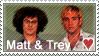 Matt Stone + Trey Parker Stamp by SpiritLeTitan