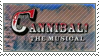 Cannibal the Musical Stamp by SpiritLeTitan
