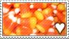 Candy Corn stamp by SpiritLeTitan