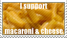 mac n cheese stamp by SpiritLeTitan