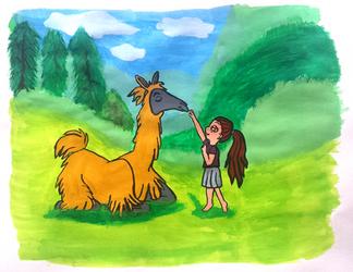 Llama Love by UnbridledMuse