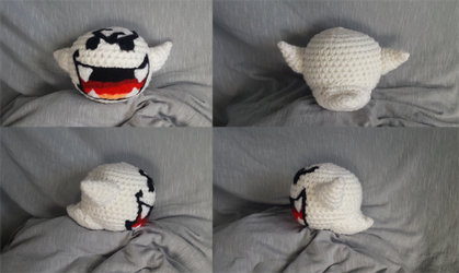Boo Plush #2 [Commission] by UnbridledMuse