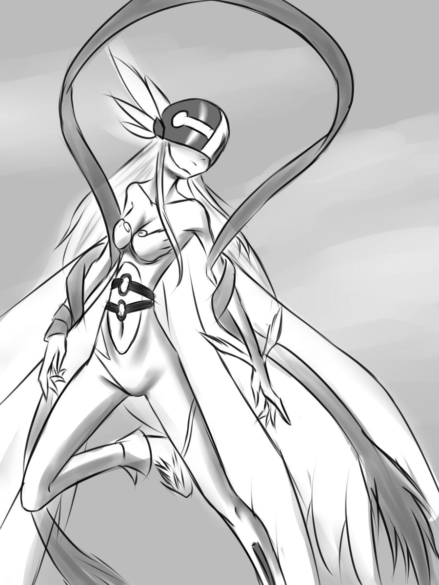 Angewomon by drantyno