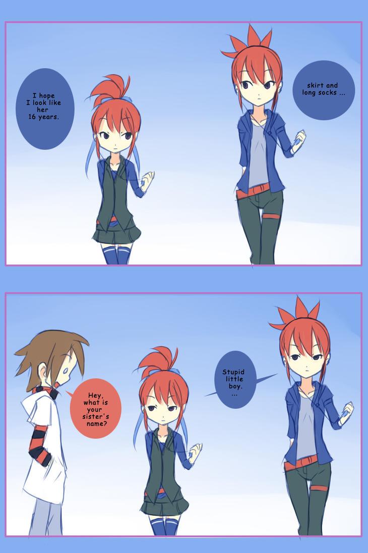 Ruki sister. by drantyno