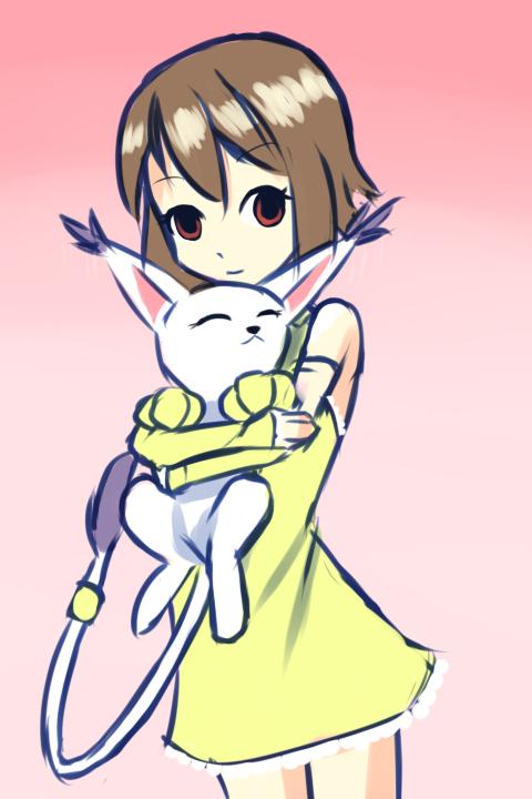 Hikari and Ruru by drantyno
