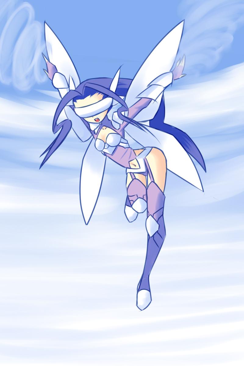Fairymon Fairy of Wind by drantyno
