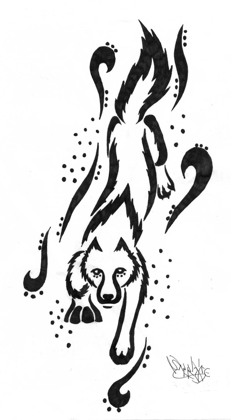 the wolf arm tattoo by sapphire blackrose on deviantart. Black Bedroom Furniture Sets. Home Design Ideas