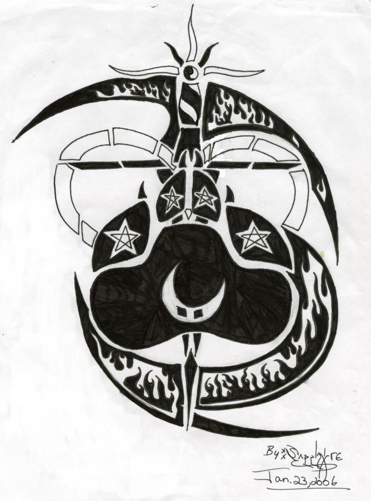 my favorite tattoo design yet by sapphire blackrose on deviantart. Black Bedroom Furniture Sets. Home Design Ideas