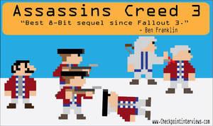 Assassin's Creed 3 Artwork by AtomicEraComics