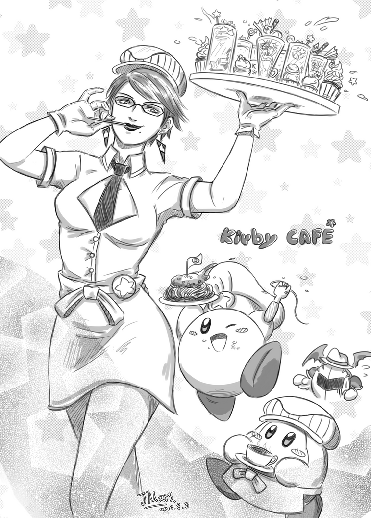Kirby CAFE (SSB4) by JMarsS