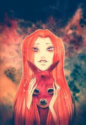 Fox girl by Meeth0s