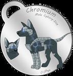 Chromium the Cyborg Dog