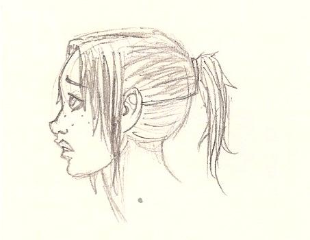 Audrey nervous. by Nemo111