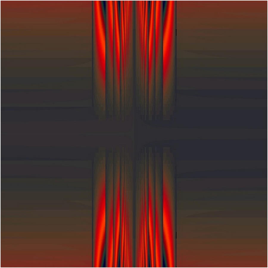 red sound on blue by FabioKeiner