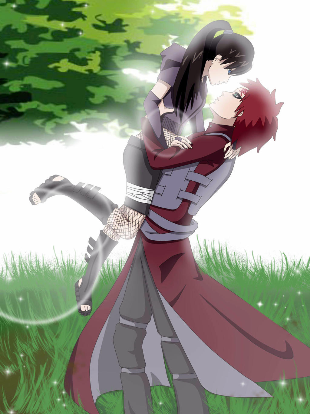 Gaara and alice by gaara blushes episode
