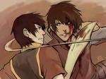 Avatar-Jet and zuko