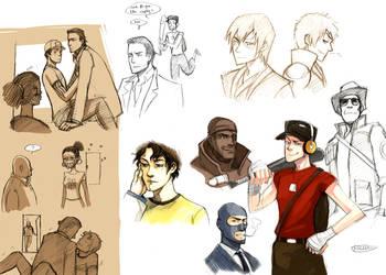 Doodles by Nicca11y