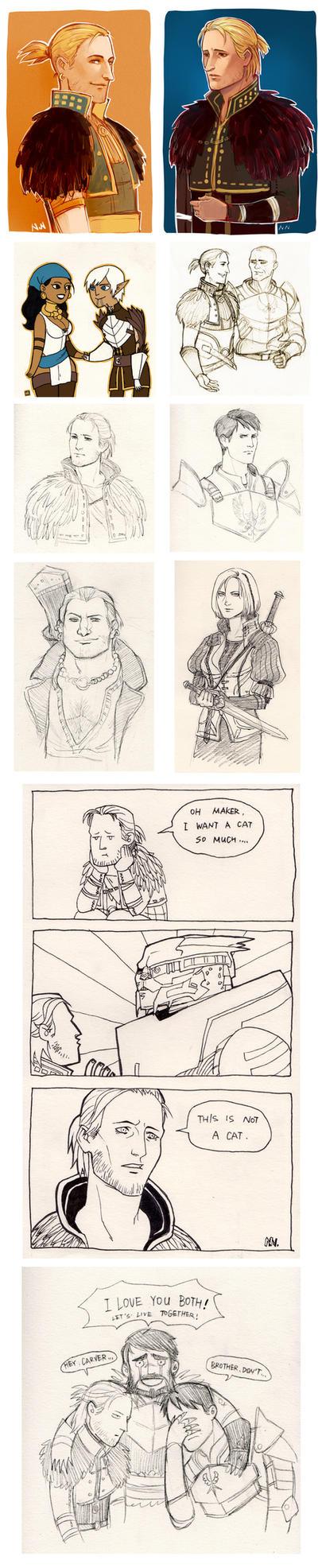 DA2 Doodles by Nicca11y