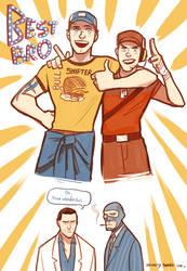 Best bros ever by Nicca11y