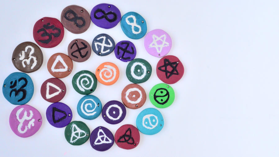 symbol pendants by Sarah-Leigh17400