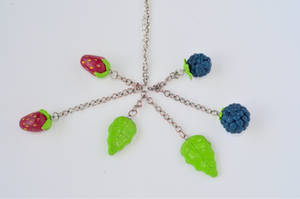 Berry necklace by Sarah-Leigh17400