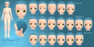Ai Droid -?- Facials MMDArtist