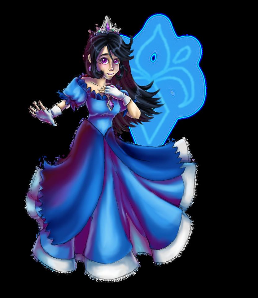 Princess Azura by AwesomebyAccident