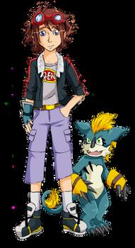 Digimon Network: Isamu and Wemicmon