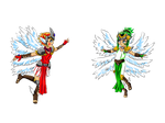 Digimon Network: Ameshamon and Spentamon