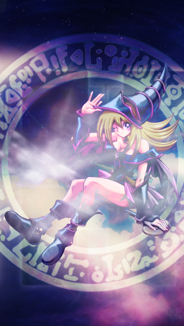 Dark Magician Girl Wallpaper for iPhone 5 5s by IgorBMaciel on DeviantArt