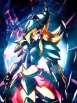 Wallpaper Dark Magician Girl The Dragon Knight
