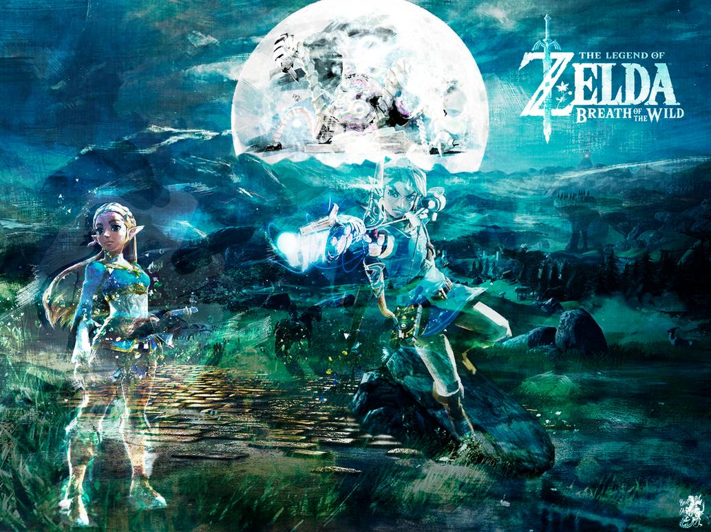Wallpaper Zelda for iPad Pro by IgorBMaciel
