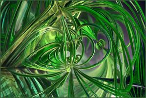 Field Lines - Mandelbulb Teaser 7 by gannjondal